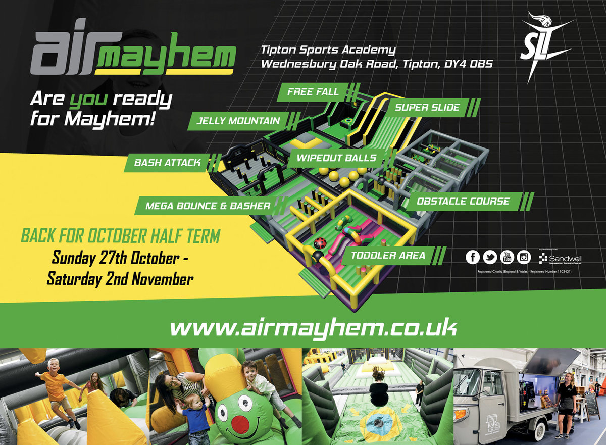 Air Mayhem set for October half term return